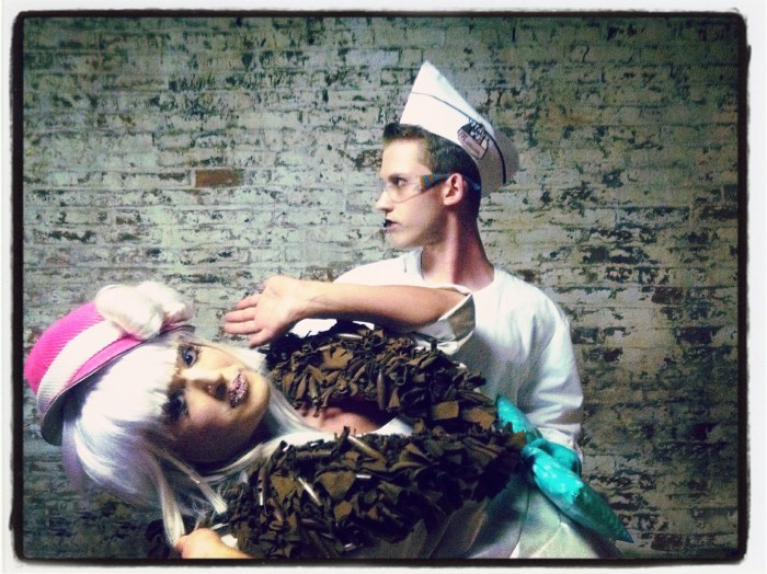 Marsian De Lellis, Aaron Barlow, 14Karat Cabaret, Baltimore, 2011