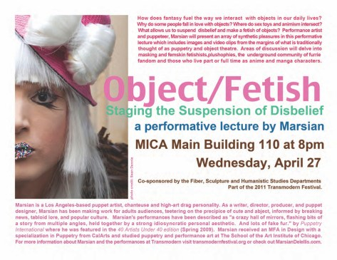 Artist Talk, Baltimore 2011