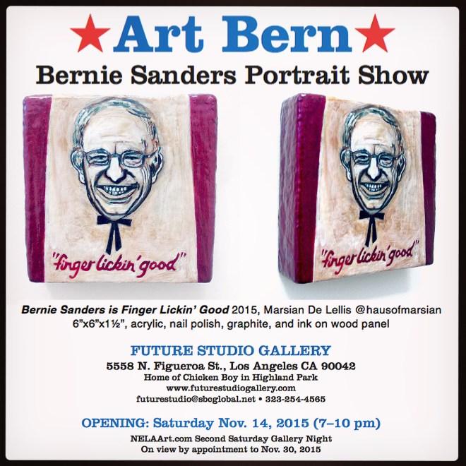 Art Bern - Bernie Sanders Portrait Show