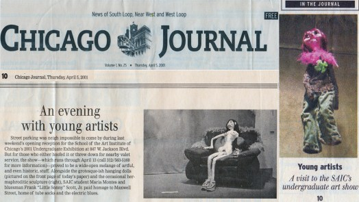 Chicago Journal, April 5th, 2001