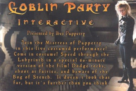 Goblin Party, 2010