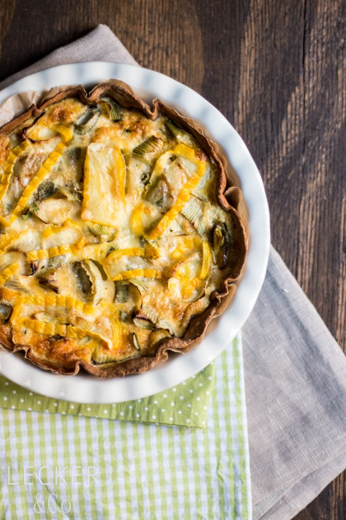 Fenchel-Quiche