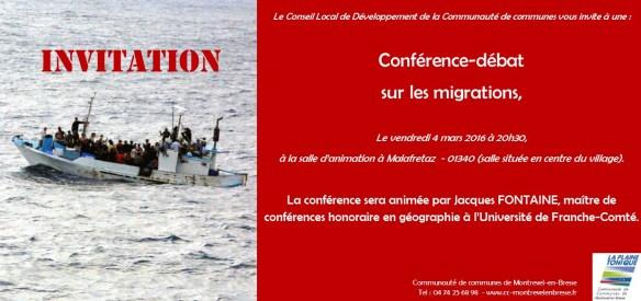 Conférence migrations