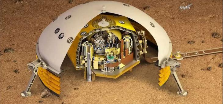 NASA'nın Mars'a İnecek Olan InSight Uzay Aracı, Kızıl Gezegen'in Derinliklerini Araştırmak Üzere Fırlatıldı
