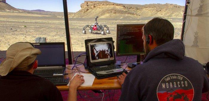 Mars'a Gidecek Sürücüsüz Araçlar, İlk Olarak Fas Çöllerini Keşfe Çıktı