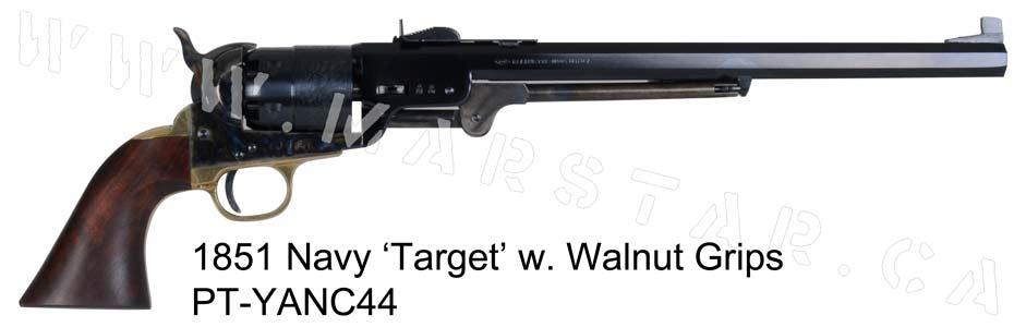 Pietta: 1851 Navy 'Target'  44