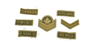 Badges, Patches & Medals