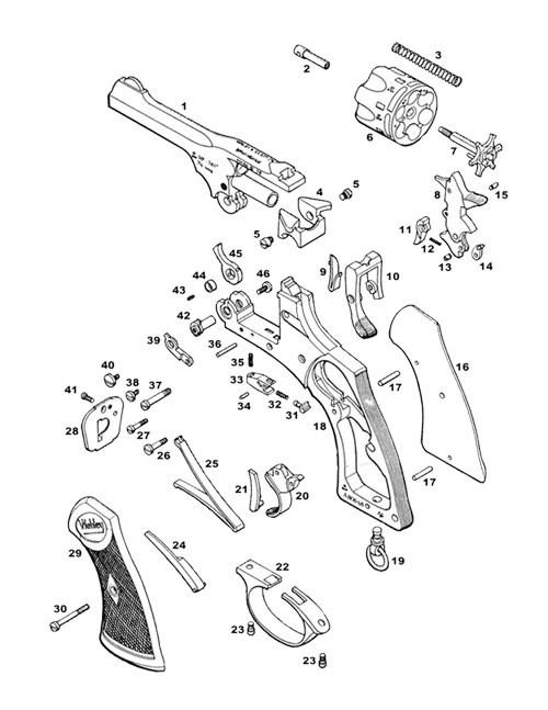 Revolver Parts
