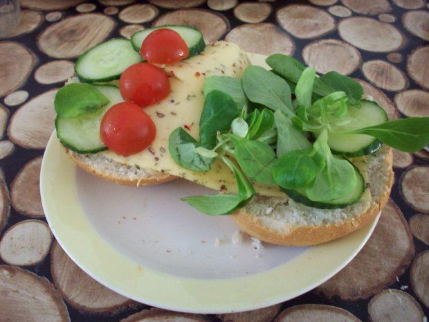 Een broodje gezond á la Liesbeth.