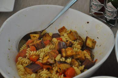 De waanzinnig lekkere vegetarische baba ganoush pasta die we vaker gaan maken!