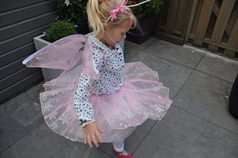 Pirouettes laten de rok mooi zwieren...