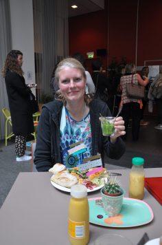 lunch meet the blogger