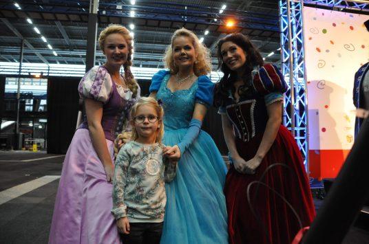 met de prinsessen