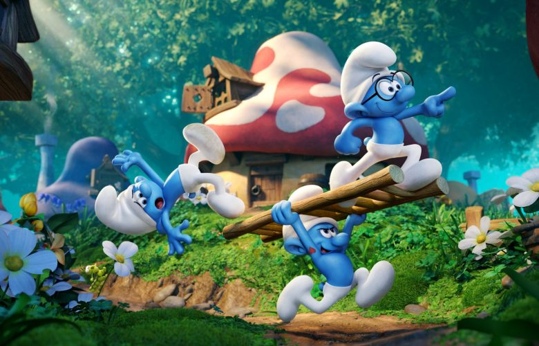 smurfs lost village