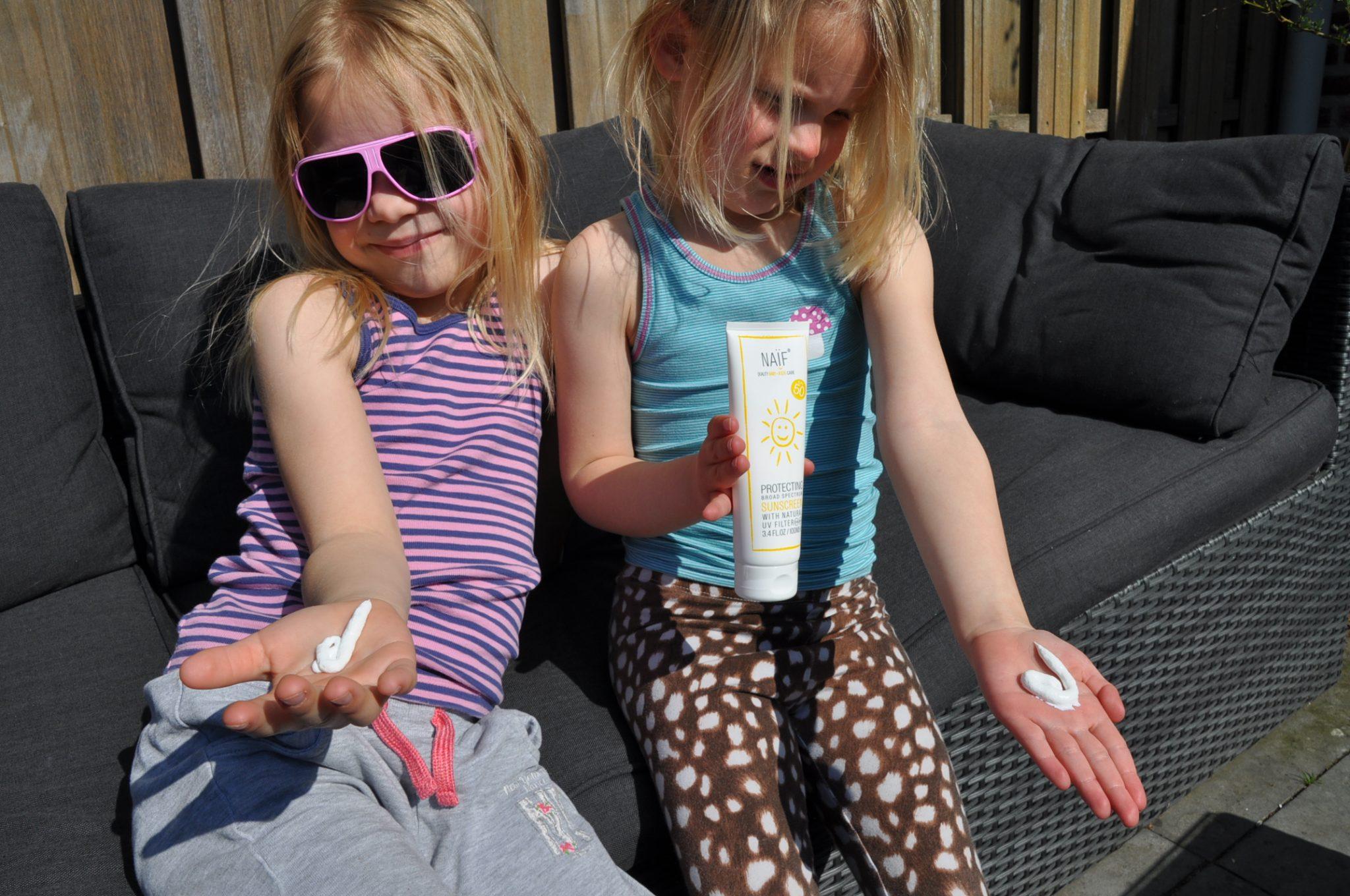 naif zonnebrand en after sun