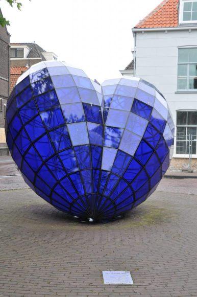 blauwe hart delft