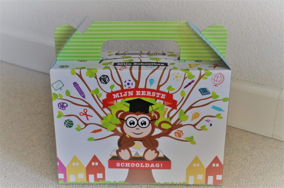 Gratis voor groep 1: unboxing 'Mijn Schoolbox'