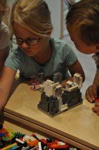 lego bouwen kinderfeestje