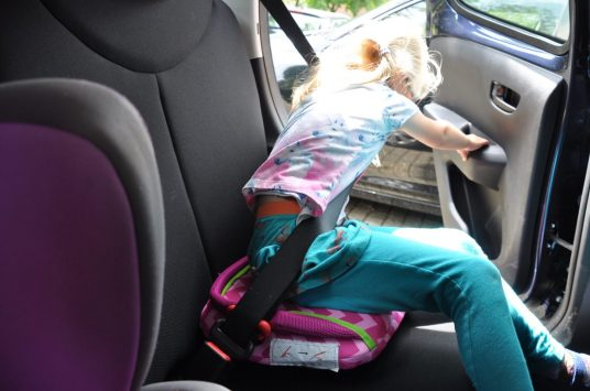 bubblebum opblaas autostoel