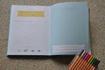 vakantie dagboek