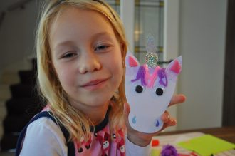 mudpuppy craft set magical unicorn