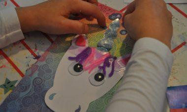 mudpuppy craft set magical unicorn