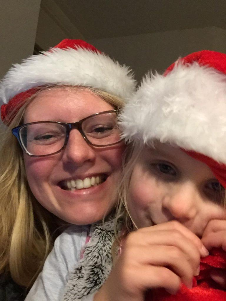 kerst selfie