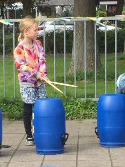 zomerfeest drummen