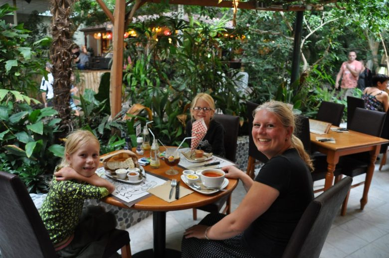 eten bij the grill center parcs