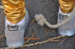 naturino sneakers zilver
