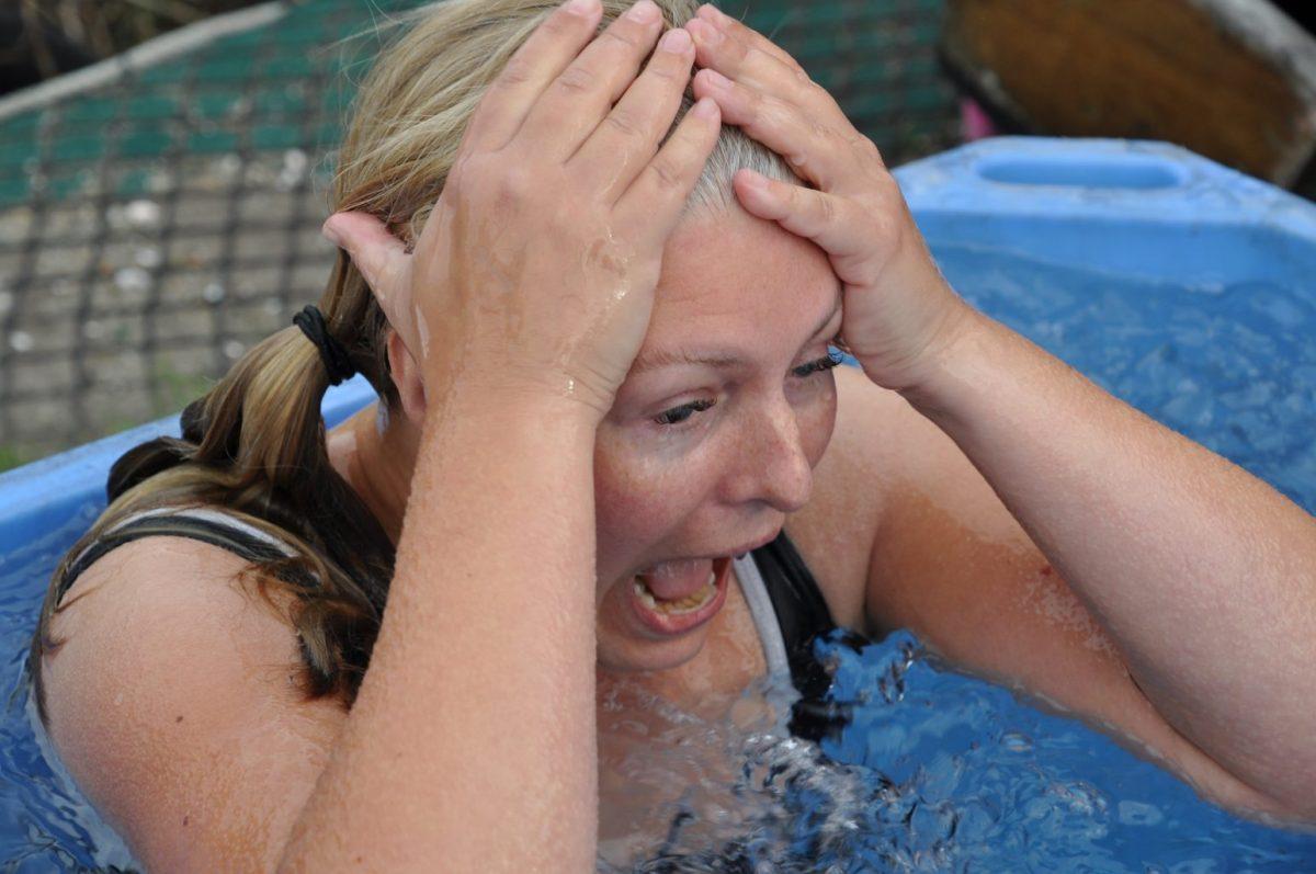 Zo. Superpoweractivatie: ik heb in een ijsbad gezeten!