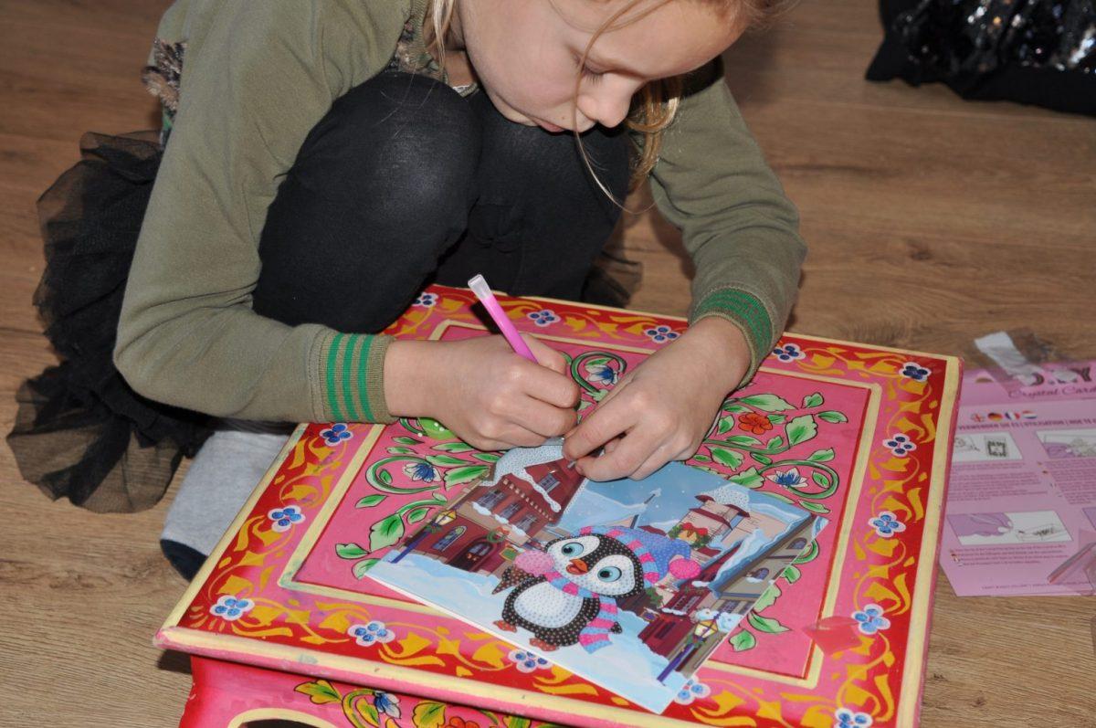 Knutselen: Diamond painting voor kinderen