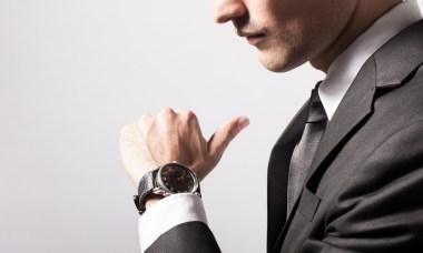 sexy man met horloge