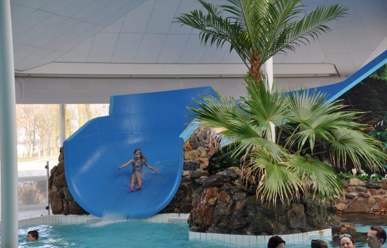 zwembad de leistert glijbaan