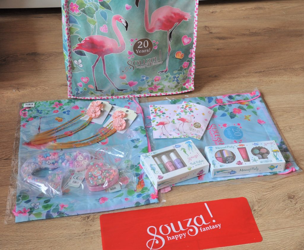 souza for kids unboxing