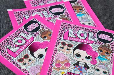 lol surprise stickerboek