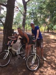 fietsen met kind