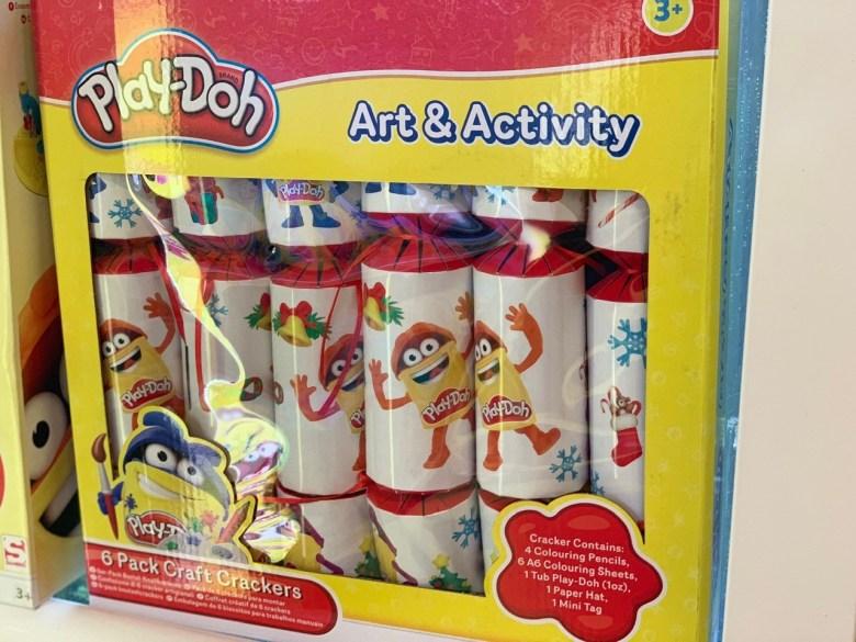 playdoh christmas crackers