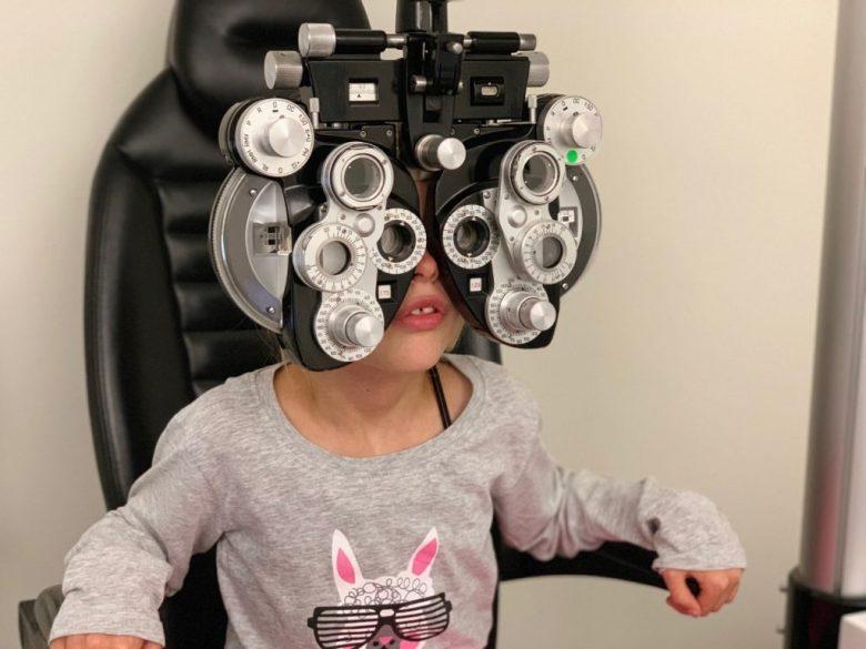 opticien oogcontrole