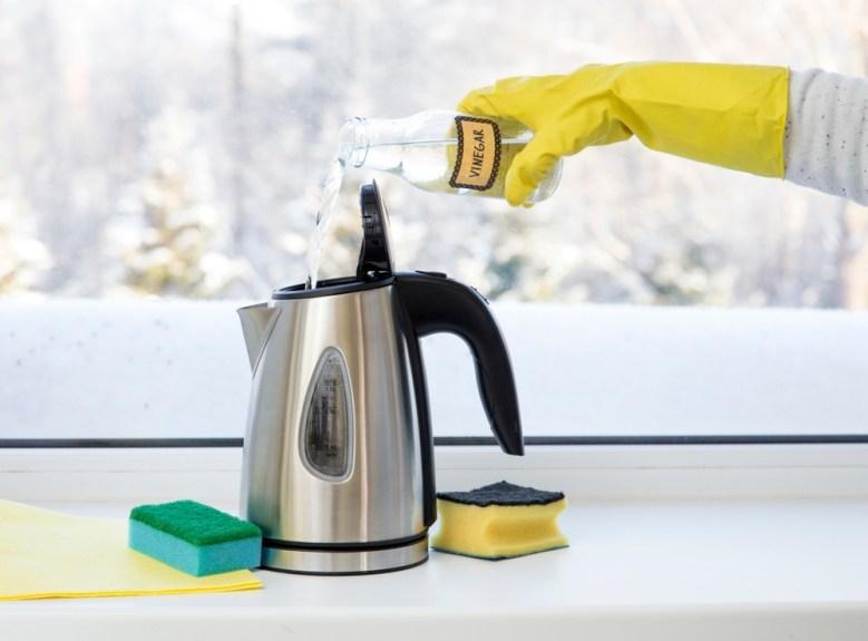 schoonmaken met azijn