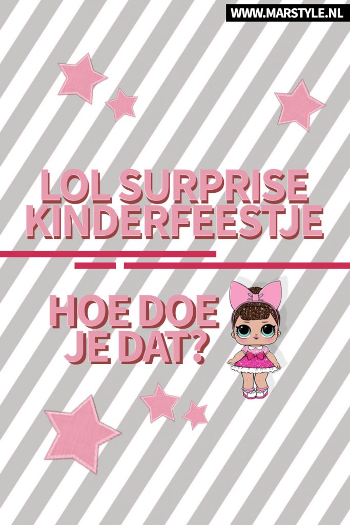LOL surprise feestje