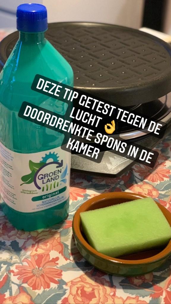 azijn tegen gourmetlucht