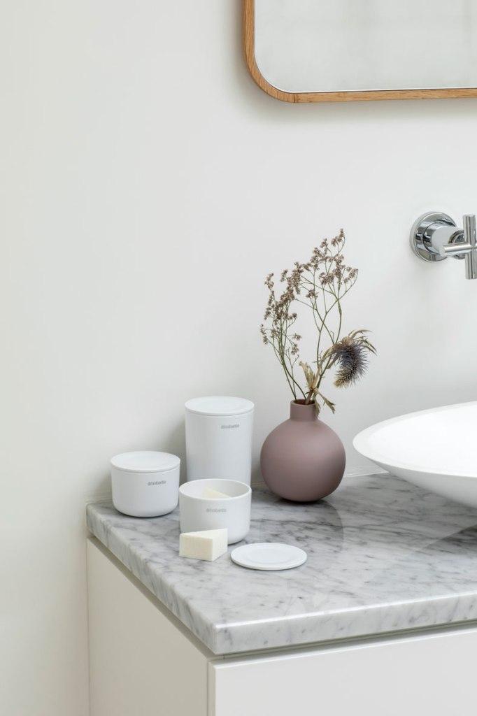 opbergen badkamer brabantia