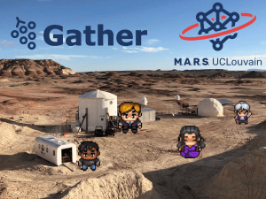 Virtual Meet & Drink – GatherTown at the Mars Desert Research Station