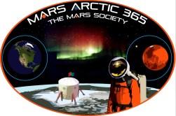 FMARS MarsArtic365 Mission Patch