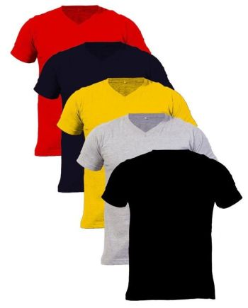 Pack of 5 V-Neck