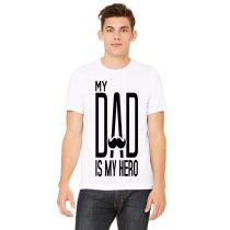 White Graphics T-Shirt for Men