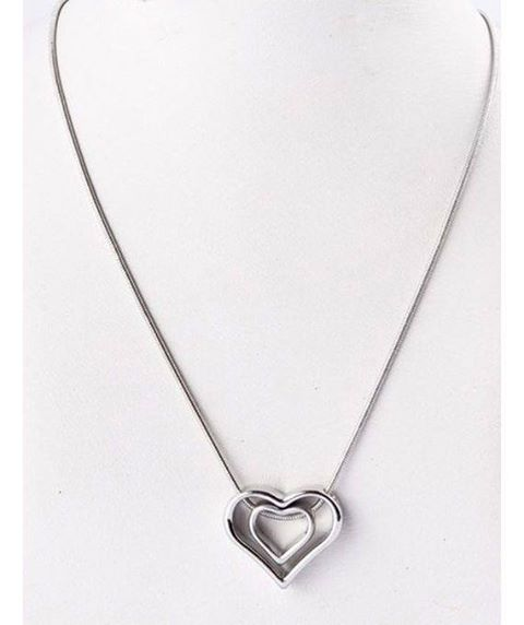 hearts shape pendant