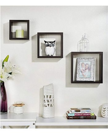 square shaped wall shelf 7