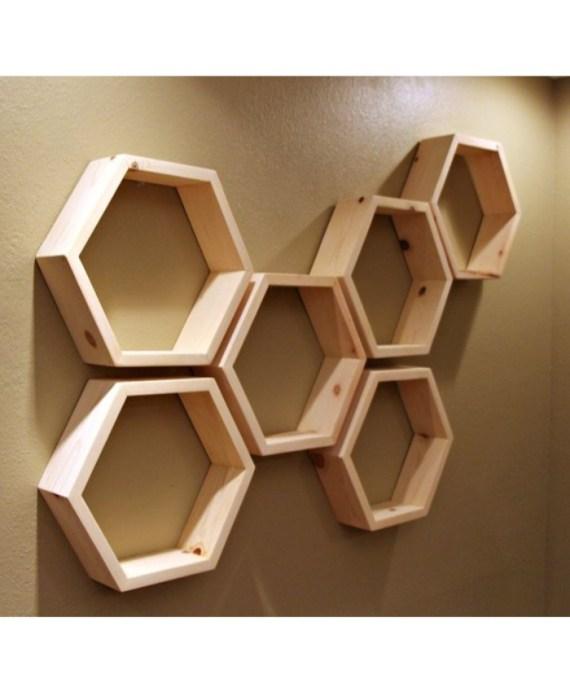honeycomb wall decor 6